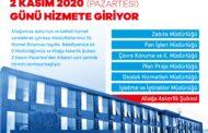 Aliağa Belediyesi Ek Hizmet Binası 2 Kasım'da Hizmete Başlıyor..