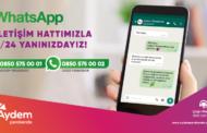 Aydem ve Gediz Perakende, Müşterilerine Bir WhatsApp Mesajı Kadar Yakın..