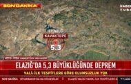 ELAZIĞ VALİSİ YIRIK'TAN 5.3'LÜK DEPREM İLE İLGİLİ AÇIKLAMA..