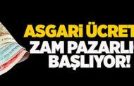 ASGARİ ÜCRETE ZAM PAZARLIĞI BAŞLIYOR, DOLAR GÜNE SAKİN BAŞLADI..