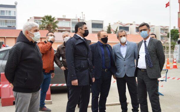 Aliağa Devlet Hastanesi Ek Acil Binası Hızla Yükseliyor..