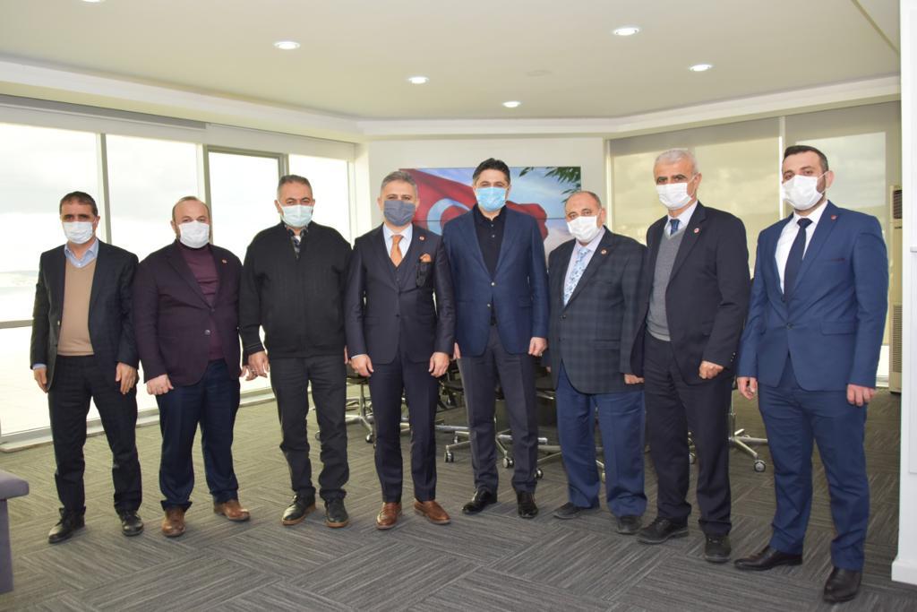 Saadet Partisi İzmir İl Başkanı Erduran, Aliağa'da ziyaretlerde bulundu..