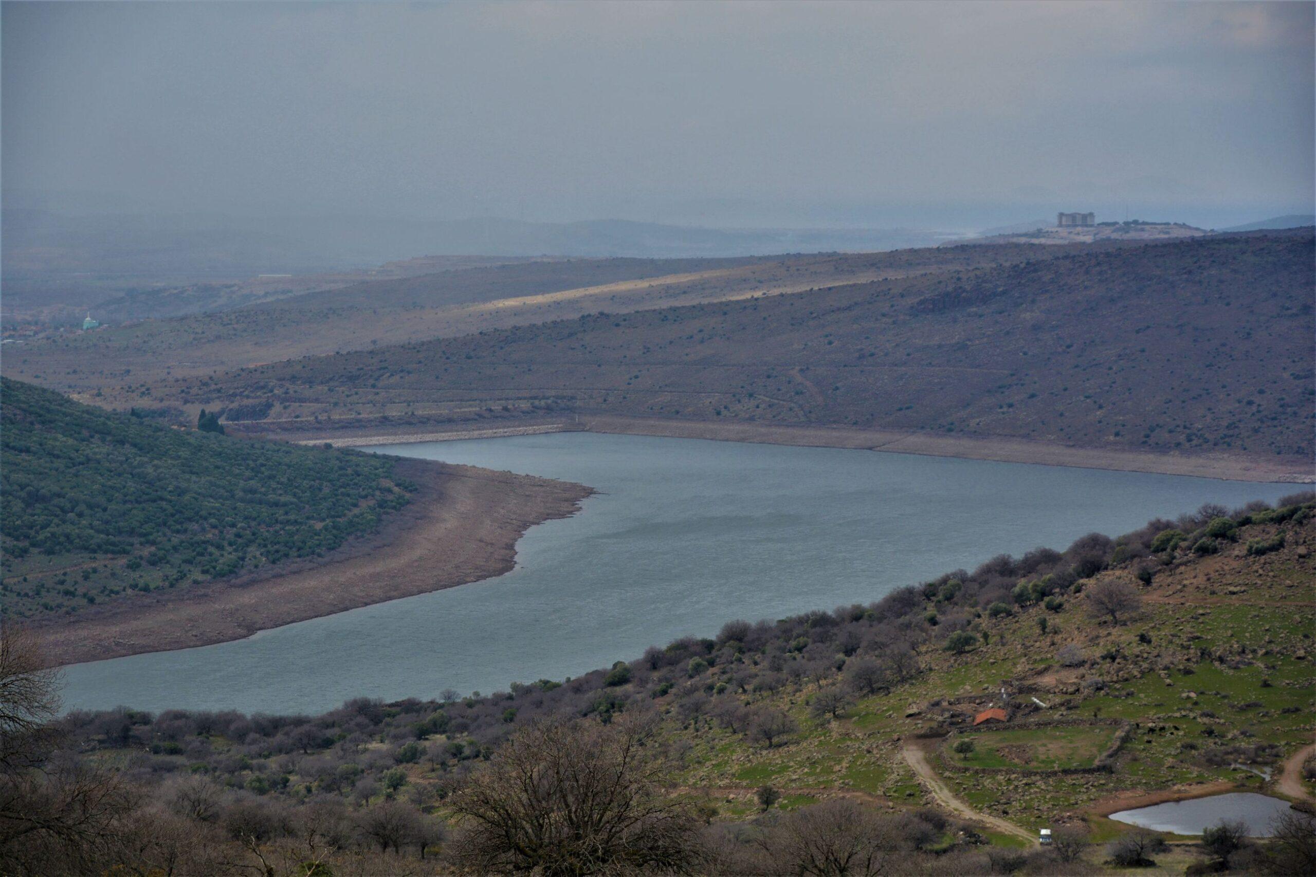 Yeni Yağışlar Umut Oldu, Güzelhisar Barajı'nda Su Seviyesi Yükseliyor..