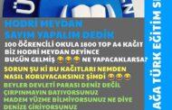 ALİAĞA BİLSEM'DE BU KEZ DE, 1.800 TOP A4 KAĞIDI OLAYI!..