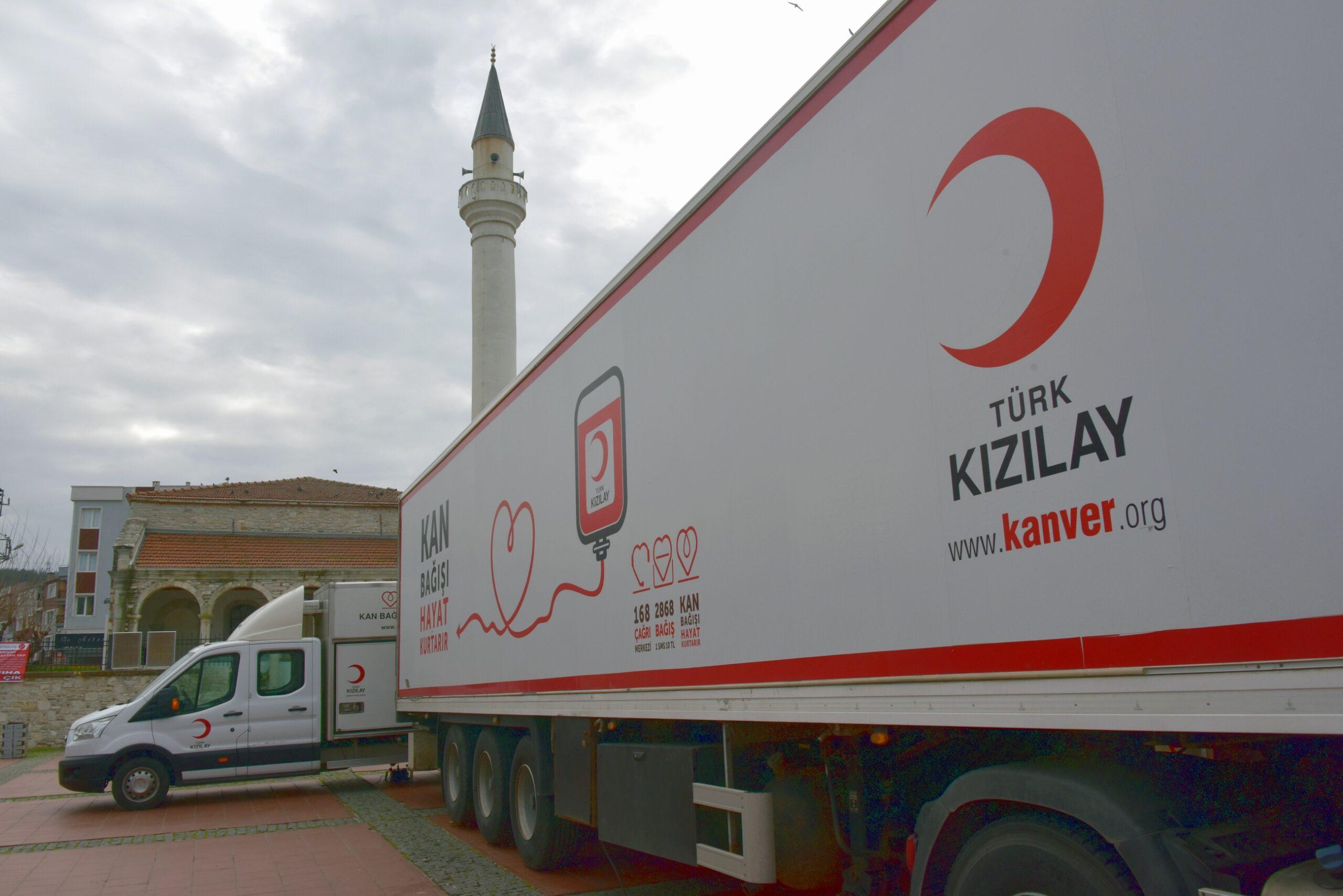 KIZILAY, KAN BAĞIŞI ŞAMPİYONU ALİAĞA'YA GELİYOR..