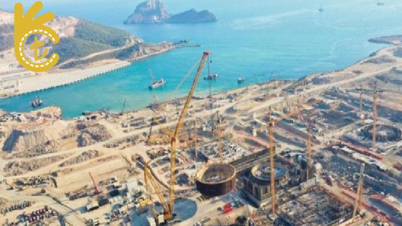 Akkuyu Nükleer Santrali'nin Üçüncü Reaktörünün Temeli 10 Mart'ta Atılıyor..
