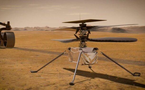 NASA'NIN MARS HELİKOPTERİNİN İLK TEST UÇUŞU ERTELENDİ..