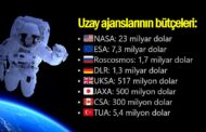 İŞTE DÜNYA'DAKİ UZAY AJANSLARI İLE TÜRK UZAY AJANSININ BÜTÇELERİ..