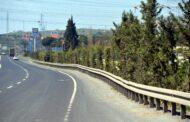 Helvacı'dan Yeni Şakran'a Kadar Yol Kenarları Ağaçlandırılıyor..