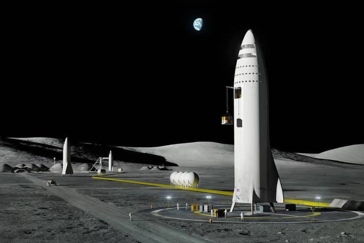 NASA, İNSANLI AY GÖREVİNDE SPACEX İLE BİRLİKTE ÇALIŞACAK..