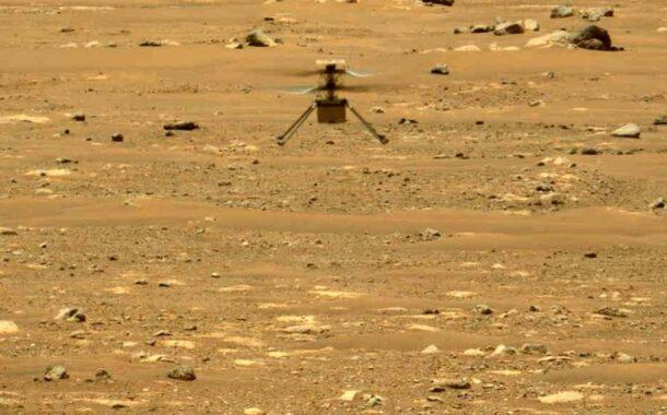 NASA, Mars Helikopterini Daha Önce Gitmediği Bir Yere Uçurdu..
