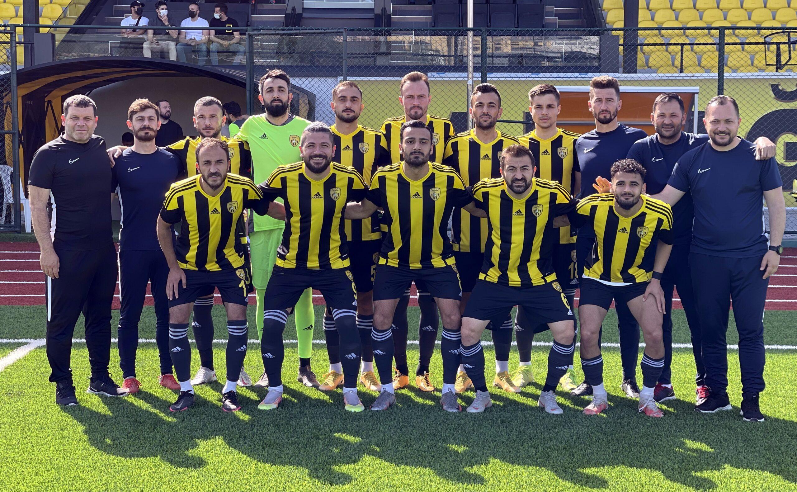 LİG YAKLAŞIYOR, ALİAĞASPOR FK HAZIRLIK MAÇLARINA DEVAM EDİYOR..