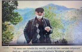 AKP'Lİ VATANDAŞ'TAN ERDOĞAN'A;