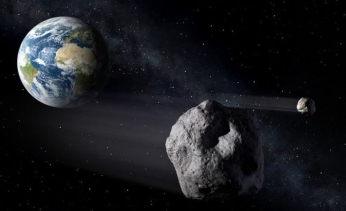 NASA'NIN KIYAMET GÜNÜ SİMÜLASYONU;  35 METRELİK BİR ASTEROİT, AVRUPA VE TÜRKİYE'NİN BATISINI YOK ETTİ!..