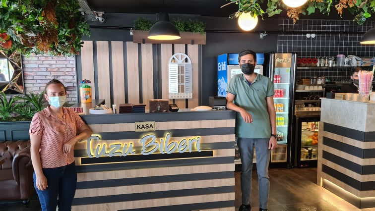 TUZU BİBERİ BİSTRO CAFE'DEN ALİAĞA'LILARA;