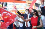 KARŞIYAKA'DA, ATATÜRK'ÜN TARİHİ ZİYARETİ KUTLANIYOR..