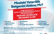 Aliağa Belediyesi'nden Mesleki Yeterlilik Belgesi Protokolü..