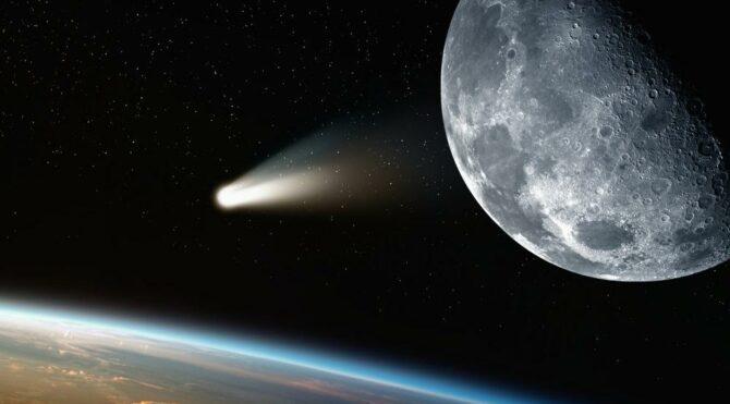 Bugüne Kadar Keşfedilmiş En Büyük Kuyruklu Yıldız Tespit Edildi...