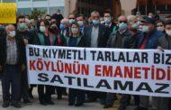 BERGAMA'DA, TARIM ALANLARININ SATIŞ KARARI İPTAL EDİLDİ...
