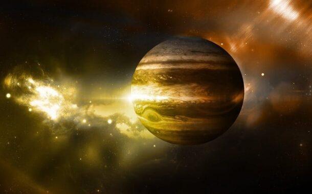 Jüpiter'e Dünya'dan Görülebilecek Kadar Işık Yayarak Çarpan Gök Cismi Kaydedildi...