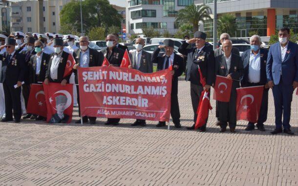 ALİAĞA'DA GAZİLER GÜNÜ KUTLAMASI...