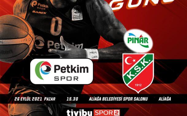 Sezonun İlk Haftasında, Aliağa Petkim Spor, Pınar Karşıyaka'yı Konuk Ediyor...