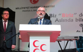 MHP MANİSA İL BAŞKANI İSTİFA ETTİ!...